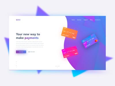 Landing Page - Banx