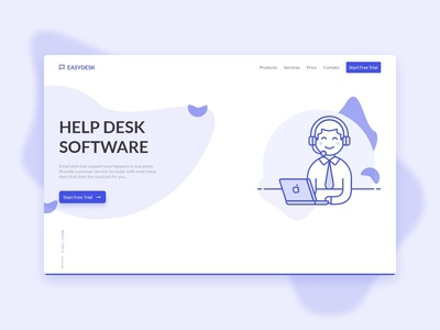 Landing Page - Easydesk