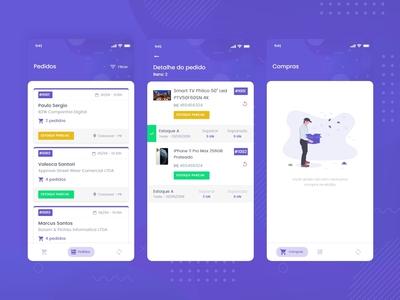 Mobile App - Separador
