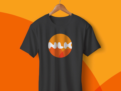 Clothing from for children's club NLK minimal logo illustration graphic-design icon brand-identity rebrand design vector branding consistency logo clothing brand