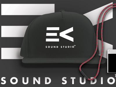 EV Sound Studio Branding brand identity graphic design logo branding