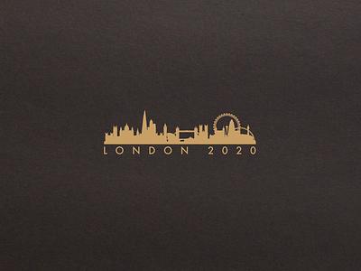 London 2020 logo-design graphic-design logo-identity logo branding