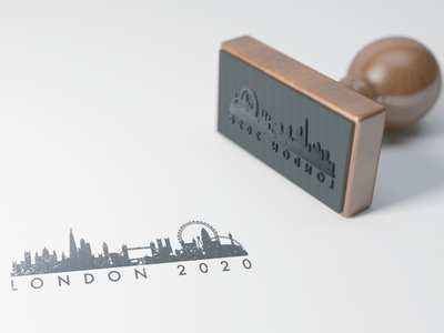 London 2020 brand-identity graphic-designer branding logo