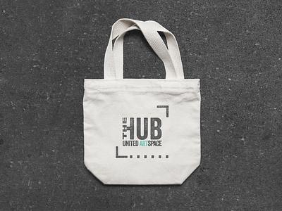 The Hub by United ArtSpace logo-design brand-design branding logo art