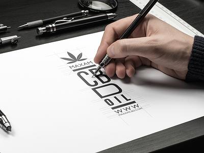 MAXAM CBD logo graphic design brand identity brand strategy branding cbd
