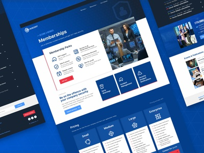 Cyber Security Website Redesign cyber security cybersecurity identity ui ux design branding