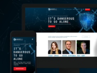 Cyber Security Conference Website & Collateral