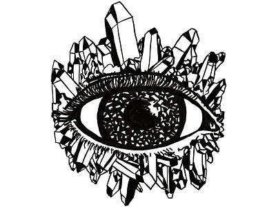 Ace of Pentacles tarot tattoo digital illustration black and white illustration