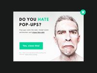 Daily UI 016 - Pop-Up