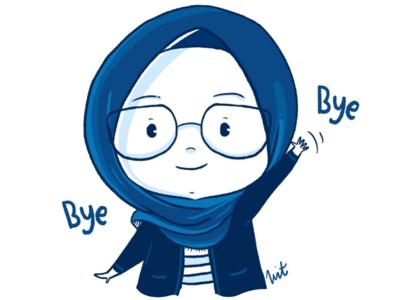 Will say goodbye