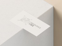 Benevolence Tribe Logo Design Business Card Mockup