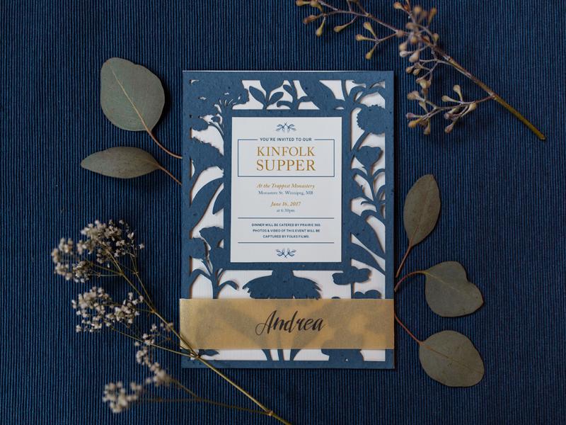 Invitation Design invite print