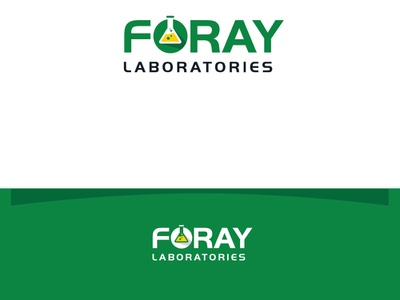 Foray Laboratories icon illustration logo design branding typography esolzlogodesign laboratories foray laboratories