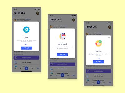 Connect Telegram mobile app instruction telegram