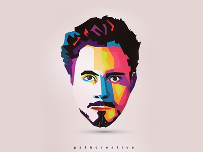 Robert Downey Jr face vector ironman marval marvalsuperheros ironman2017 robertdowneyjr cloud logopedia