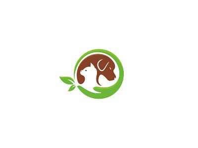 Pet Care medical veterinary animal care pet symbol sale concept design branding icon logo
