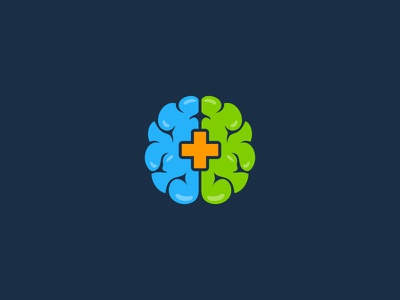 Trauma Recovery health trauma recovery brain idea symbol sale concept design branding icon logo