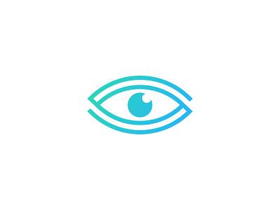 Eye Solution letter s solution eye idea symbol sale concept design branding icon logo
