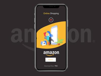 Amazon illustration Mobile