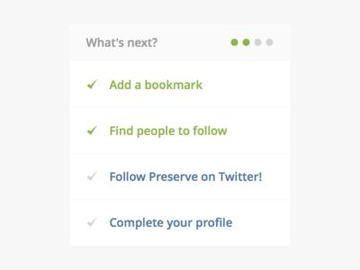 Account Progress Indicator (Retina)