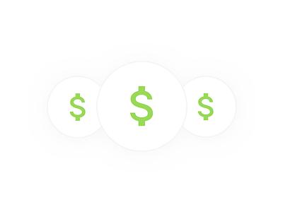 Money sketch illustration