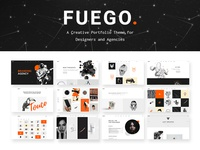 Fuego - Creative Wordpress theme