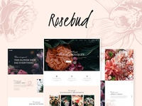 Rosebud - Flower Shop Wordpress theme