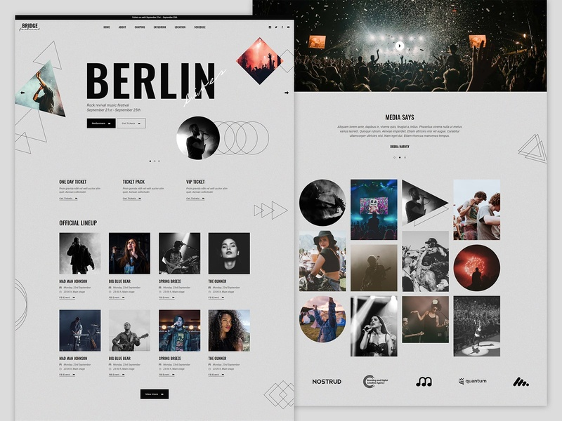 Music Festival Demo