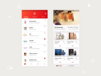 Vendors Mobile App