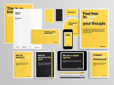 Identity yellow identity digital agency