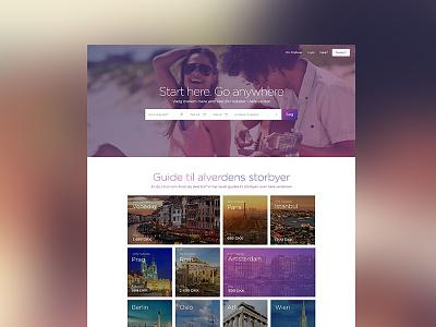 Start Up start-up website travel
