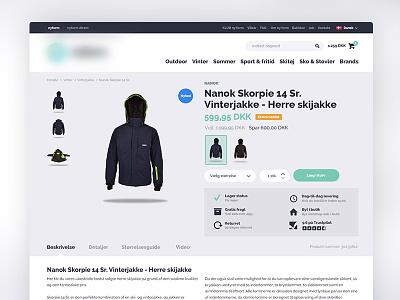 Webshop webshop sport product