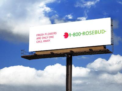 1-800-Rosebud Logo #ThirtyLogos