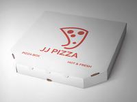 JJ Pizza Logo #ThirtyLogos