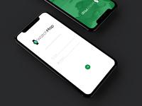 WatchMap App Login Screen