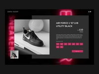 Sneaker Product Page
