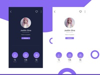 Profile Page Concept UI Design