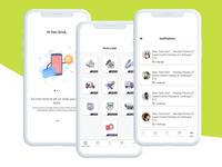 U Task Mobile Application UI/UX