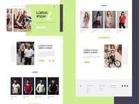 Fashion Website Design UI Free Template