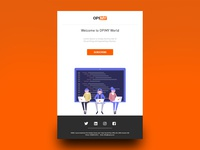 Opimy Email Template Design