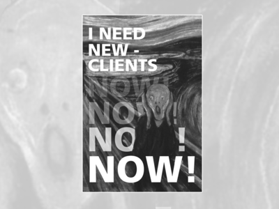 New Clients Poster