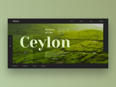 Ceylon history and travel
