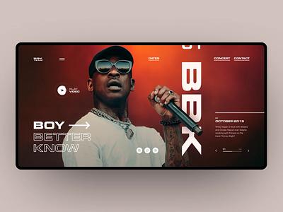 Boy Better Know music bbk animation motion interaction design interaction grid site web design design ux ui