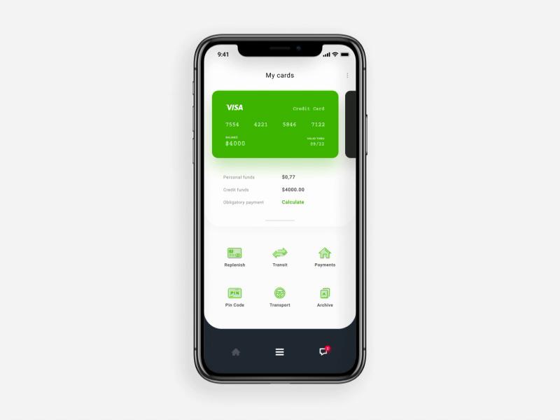 PrivatBank app redesign