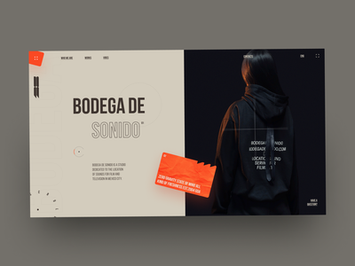 BodegaDe desktop fashion web site site grid design ux ui web design