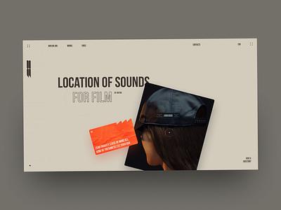Bodega De Sonido ui ux design grid site web site fashion desktop