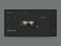 ShadyRays website interaction animation web design ui ux grid fashion desktop