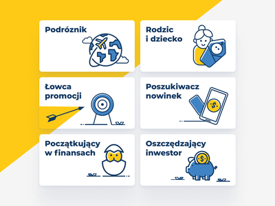 NK categories illustration branding ui page categories webdesign tiles illustration