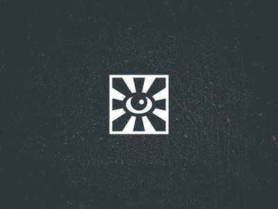 Eye emblem logotype logo symbol minimalism monochrome eye