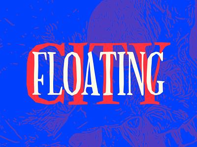 Floating City emblem minimalism lettermark lettering art lettering logo type design typedesign typeface font design font letters word words logotype logo lettering